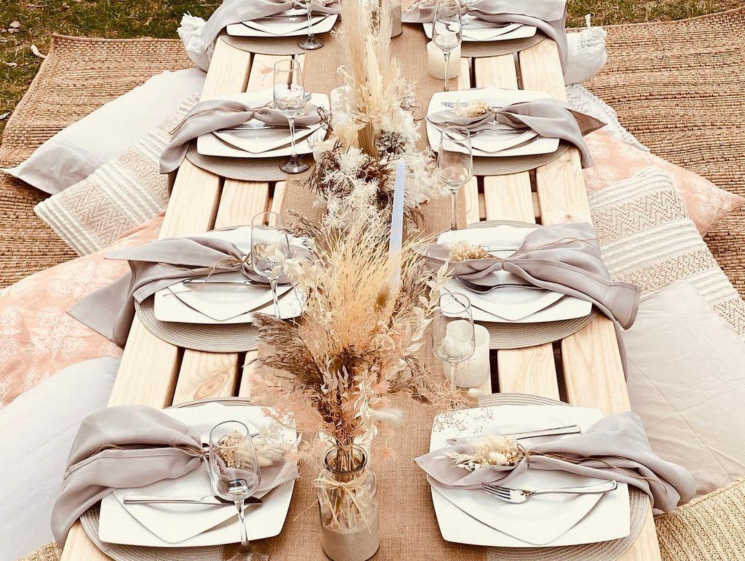 picnic table hire Melbourne