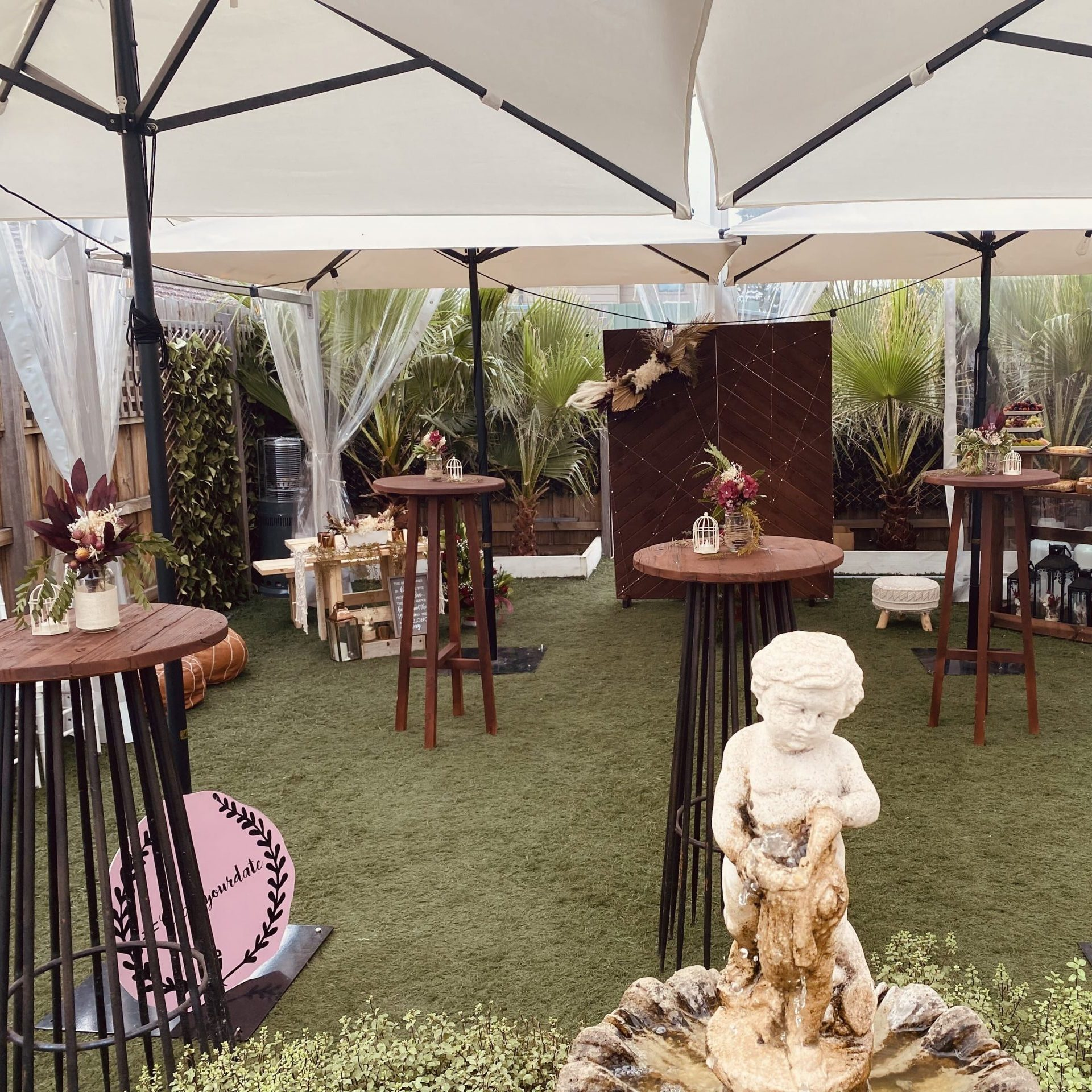 outdoor party hire Melbourne