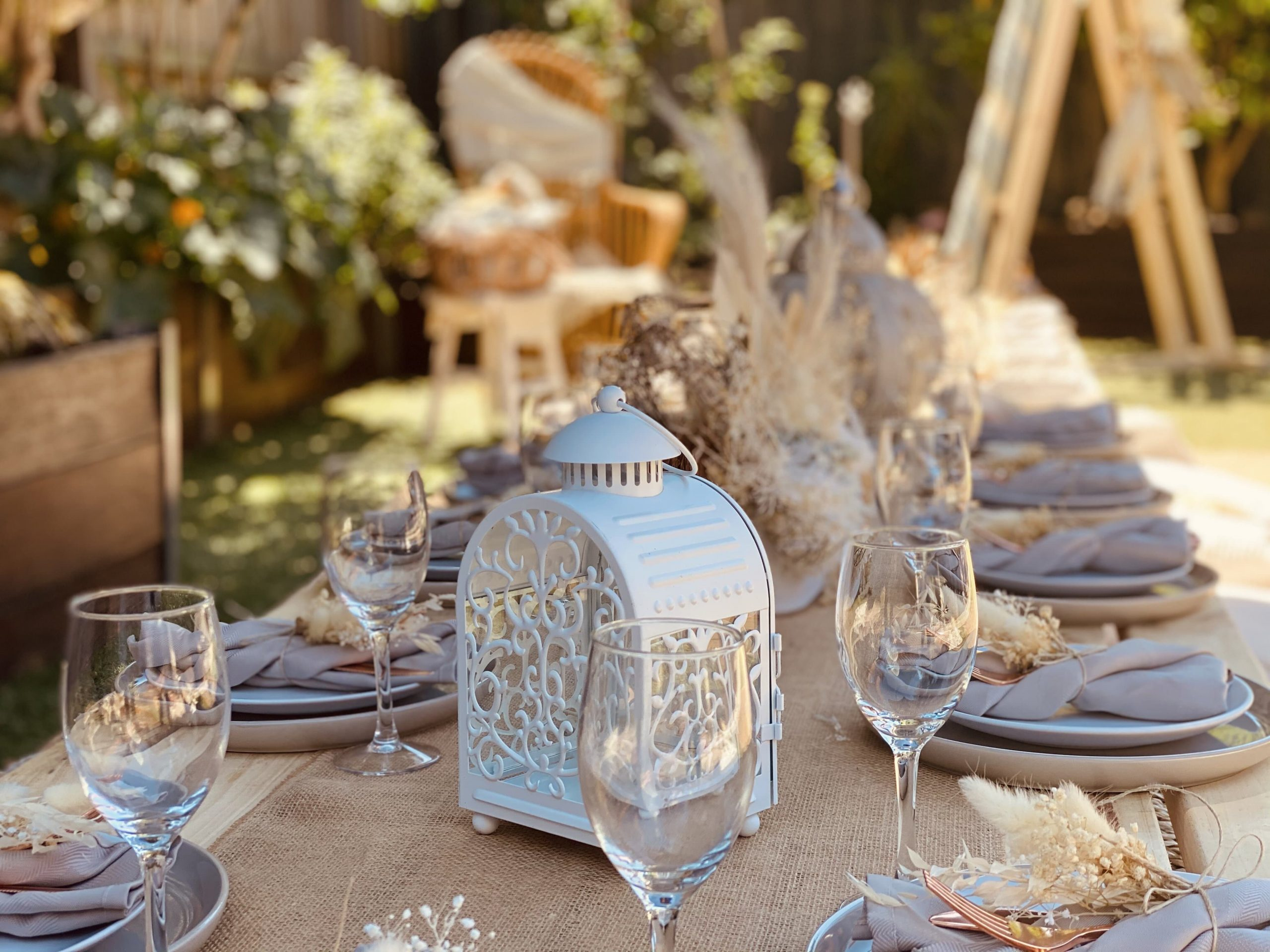Event styling ideas Melbourne
